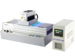 コンベヤ式空冷LED-UV硬化装置